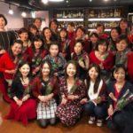 赤のカラークリスマスパーティーを開催しました!占星術ファッションカラーセミナー付き!